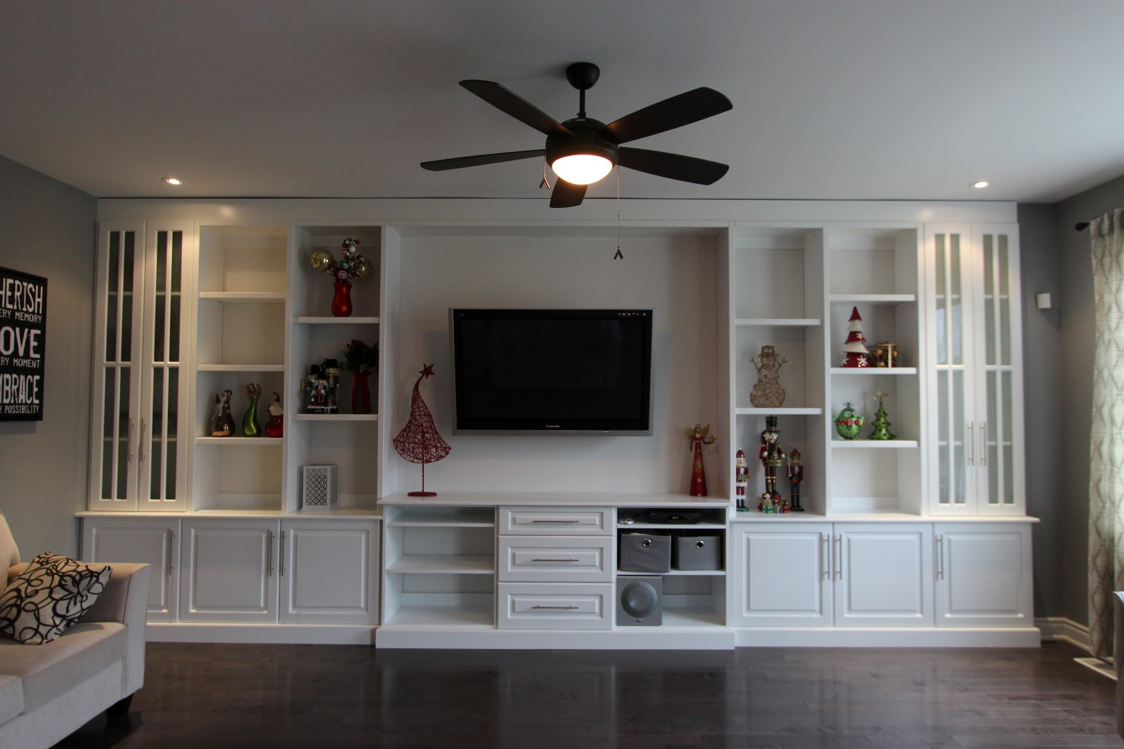 Built-in Fireplace & Entertainment Units - Gum Tree Cabinets
